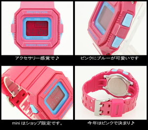 CASIO/G-SHOCKmini�ڥ�������������å��ߥˡ��ӻ���GMN-550-4BJR/pink��h-point100423��