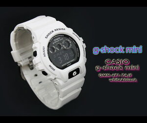CASIO/G-SHOCKMINI�ڥ�������������å��ߥˡ��ӻ���GMN-691-7AJF/white&black��h-point100423��