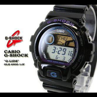 CASIO/G-SHOCK/G shock G- shock [G-LIDE] ジーライド watch /GLX-6900-1JF/black [fs01gm]
