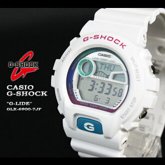 CASIO/G-SHOCK/g-shock g shock G shock G- shock [G-LIDE] ジーライド watch /GLX-6900-7JF/white [fs01gm]
