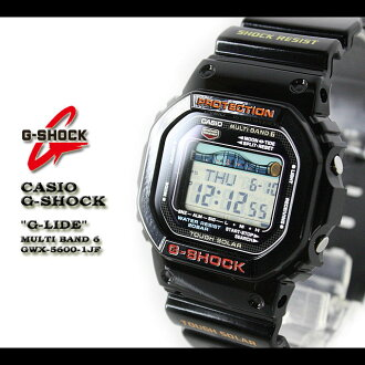 CASIO/G-SHOCK/g-shock g shock G shock G- shock [G-LIDE] ジーライド watch /GWX-5600-1JF/black [fs01gm]