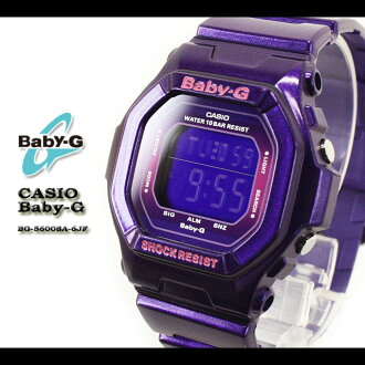 CASIO/G-SHOCK/G shock G-shock G-shock mini g-shock mini women watch BG-5600SA-6JF/PURPLE Lady's [fs01gm]