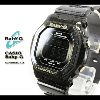 CASIO/G-SHOCK/G shock G-shock G-shock mini g-shock mini women Watch BG-5605SA-1JF/BLACK Lady's [fs01gm]