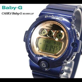 CASIO/G-SHOCK/g-shock g shock G shock G-shock Baby-G baby G women [DW-6900] BG-6900-2JF/blue Lady's / watch [fs01gm]