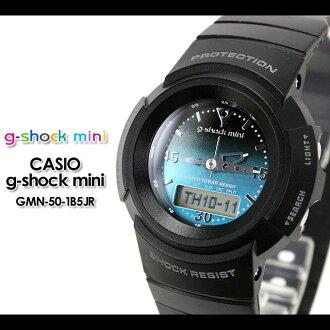 CASIO/G-SHOCK/g shock G shock G- shock G- shock mini g-shock mini women GMN-50-1B5JR/black Lady's [fs01gm]