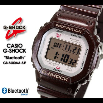 ★ ★ CASIO/G-SHOCK/g-shock g shock G shock G-shock Bluetooth Watch /GB-5600AA-5JF/brown iPhone iPhone