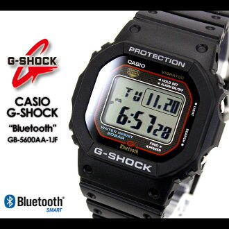 ★ ★ CASIO/G-SHOCK/g-shock g shock G shock G-shock Bluetooth Watch /GB-5600AA-1JF/black iPhone iPhone