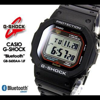 ★ ★ CASIO/G-SHOCK/g-shock g shock G shock G-shock Bluetooth Watch /GB-5600AA-1JF/black iPhone iPhone