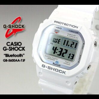 ★ ★ CASIO/G-SHOCK/g-shock g shock G shock G-shock Bluetooth Watch /GB-5600AA-7JF/white iPhone iPhone