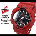 ★SALE30%OFF! 送料無料★ G-ショック Gショック GA-100B-4AJF/red CASIO/G-SHOCKCombination Model腕時計