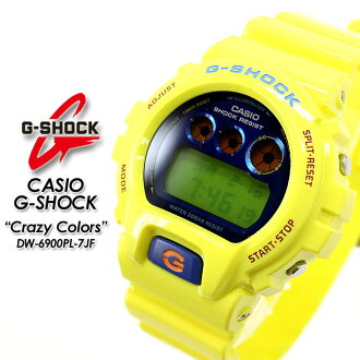 ★ domestic regular ★ ★ ★ CASIO/G-SHOCK/g-shock g shock G shock G-shock crazy colors watch / DW-6900PL-9JF
