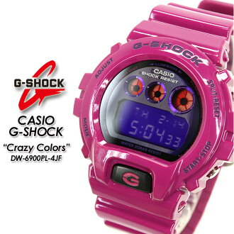 ★ domestic regular ★ ★ ★ CASIO/G-SHOCK/g-shock g shock G shock G-shock crazy colors watch / DW-6900PL-4JF
