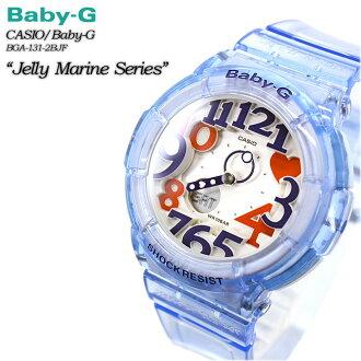 ★ ★ baby G Jerry & marine series BGA-131-2BJF for ladies ladies watch g-shock g-shock mini