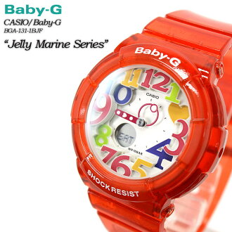 ★ ★ baby G Jerry & marine series BGA-131-4BJF for ladies ladies watch g-shock g-shock mini