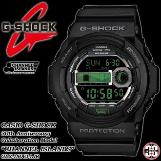 ★ domestic genuine ★ ★ ★ CASIO/G-SHOCK 30 anniversary commemorative limited edition special collaboration model Channel Island G ride watch GLX-150CI-1JR