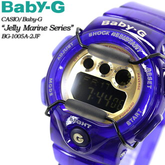 ★ domestic genuine ★ ★ ★ baby G Jerry & marine series BG-1005A-2JF for ladies ladies watch g-shock g-shock mini