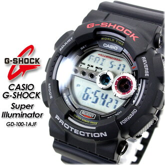 ★ domestic regular ★ ★ ★ CASIO/G-SHOCK / g-shock g shock G shock G-shock スーパーイルミネーター watch / GD-100-1 AJF