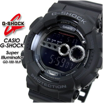 ★ domestic regular ★ ★ ★ CASIO/G-SHOCK / g-shock g shock G shock G-shock スーパーイルミネーター watch / GD-100-1 BJF