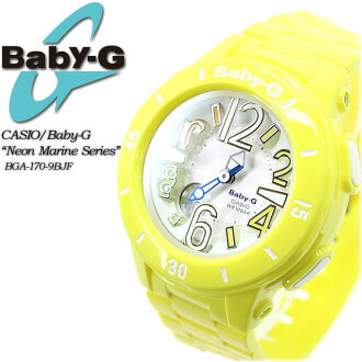 ★ ★ baby G neon & marine series BGA-170-9BJF for ladies ladies watch g-shock g-shock mini