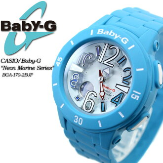 ★ ★ baby G neon & marine series BGA-170-2BJF for ladies ladies watch g-shock g-shock mini