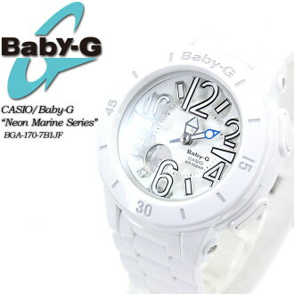 ★ ★ baby G neon & marine series BGA-170-7B1JF for ladies ladies watch g-shock g-shock mini