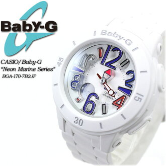 ★ ★ baby G neon & marine series BGA-170-7B2JF for ladies ladies watch g-shock g-shock mini