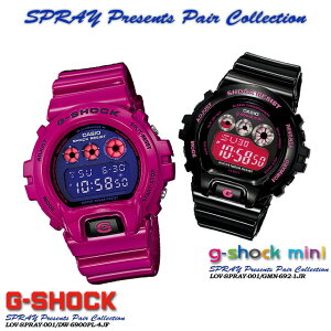 ����������ʡ������̵����CASIOG-SHOCK�ڥ�������������å���G����å�G−����å���SPRAYPresentsPairCollection�ۥ��ץ쥤�ץ쥼��ĥڥ����쥯�����LOV-13SM-4JF(DW-6900PL-4JF/GMN-692-JR)�ӻ���LOV-12A-7AJR