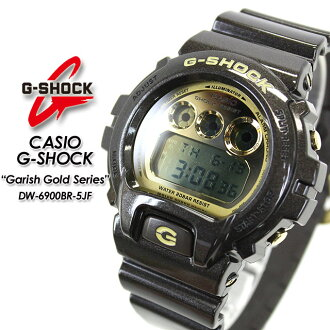 ★ domestic genuine ★ ★ ★ CASIO and g-shock series ガリッシュゴールド watch / DW-6900 BR-5JF-shock g shock G shock G-shock