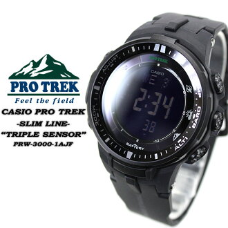 ★ ★ protrek radio solar triple sensor mens men's watch / PRW-3000 - 1AJF CASIO g-shock G shock Casio 6600