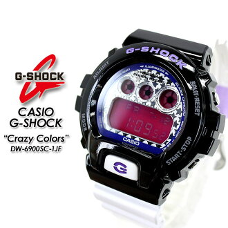 ★ domestic genuine ★ ★ ★ CASIO and g-shock クレージーカラーズ watch / DW-6900SC-1JF g-shock g shock G shock G-shock