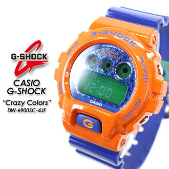 ★ domestic genuine ★ ★ ★ CASIO and g-shock クレージーカラーズ watch / DW-6900SC-4JF g-shock g shock G shock G-shock