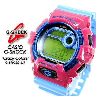 ★ domestic regular ★ ★ ★ CASIO g-shock g-shock g shock G shock G-shock クレージーカラーズ G-8900SC-4JF men's watch for men