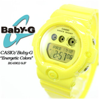 ★ ★ baby G エナジェティックカラーズ BG-6902-9JF ladies ladies watch g-shock g-shock mini