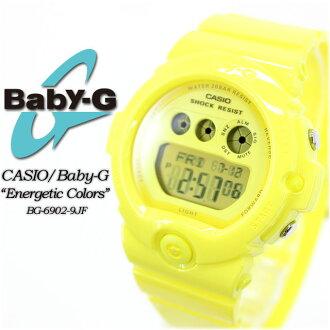 ★ ★ baby G エナジェティックカラーズ BG-6902-9JF ladies ladies watch g-shock g-shock mini