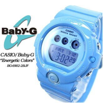 ★ ★ baby G エナジェティックカラーズ BG-6902-2BJF ladies ladies watch g-shock g-shock mini