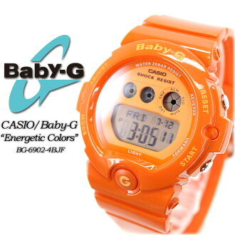★ ★ baby G エナジェティックカラーズ BG-6902-4BJF ladies ladies watch g-shock g-shock mini