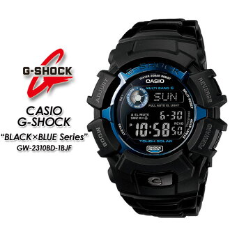 ★ ★ ★ domestic genuine ★ CASIO g-shock wave solar g-shock g shock G shock G-shock black × blue series watch GW-2310BD-1BJF