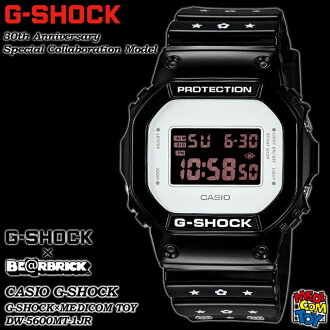 ★ domestic regular ★ ★ ★ CASIO/G-SHOCK/G shock G-shock 30th anniversary commemoration special collaboration model BE @RBRICK watch / MEDICOM toy / be@rbrick DW-5600MT-1JR