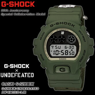★ domestic regular ★ ★ ★ CASIO/G-SHOCK/G shock G-shock 30th anniversary commemoration special collaboration model watch and undefeated DW-6901UD-3JR