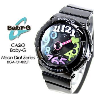 ★ domestic genuine ★ ★ ★ baby G neon dial series BGA-131-1B2JF for ladies ladies watch g-shock g-shock mini