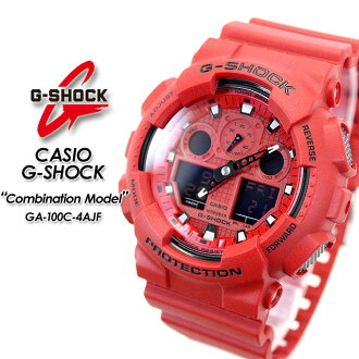 ★ domestic genuine ★ ★ ★ CASIO g-shock combination model watch / GA-100C-4AJF g-shock g shock G shock G-shock