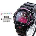 ★送料無料★ ジーショックミニ G-ショック ミニ GMN-692-1JR/black&pink g-shock mini 女性用 腕時計 レディース