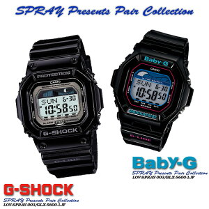 ����������ʡ������̵����CASIOG-SHOCK�ڥ�������������å���G����å�G−����å���SPRAYPresentsPairCollection�ۥ��ץ쥤�ץ쥼��ĥڥ����쥯�����SPRAY-003GLX-5600-1JF/BLX-5600-1JF�ӻ���PIC