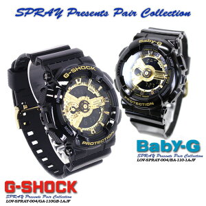 ����������ʡ������̵����CASIOG-SHOCK�ڥ�������������å���G����å�G−����å���SPRAYPresentsPairCollection�ۥ��ץ쥤�ץ쥼��ĥڥ����쥯�����SPRAY-004GA-110GB-1AJF/BA-110-1AJF�ӻ���PIC