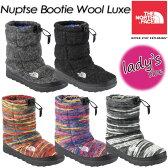 ★送料無料★【THE NORTH FACE】ノースフェイス Nuptse Bootie Wool Luxe 【ヌプシブーティウールラックス (レディース)】女性用 レディース ブーツ 長靴 NFW51583 SA-LE