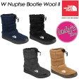 ★10%OFF! 送料無料★ 【THE NORTH FACE】ノースフェイス W Nuptse Bootie Wool II 【W ヌプシ ブーティー ウール II(レディース)】女性用 レディース ブーツ 長靴 NFW51683