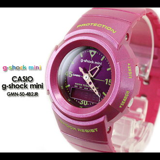CASIO/G-SHOCK/g shock G shock G-shock G-shock mini g-shock mini women watch GMN-50-4B2JR/pink Lady's [fs01gm]