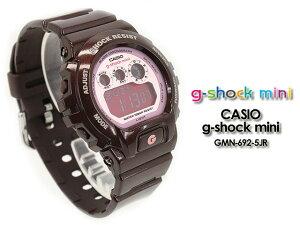 ��͵����ʡ�CASIO/G-SHOCKMINI/g-shockmini�ڥ�������������å��ߥˡ��ӻ���GMN-692-5JR/brown/pink