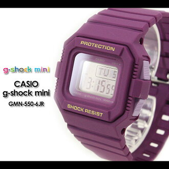 CASIO/G-SHOCK/G shock G-shock G-shock mini g-shock mini GMN-550-6JR/purple for women watch [fs01gm]