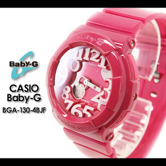 CASIO/G-SHOCK/g-shock g shock G shock G-shock Baby-G baby G baby g women watch [Neon Dial Series] (the neon dial series) BGA-130-4BJF Lady's watch [fs01gm]